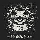 Emblem Baseball Old School