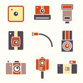 Icons Retro Camera