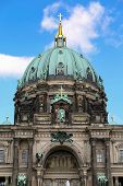 stock photo of dom  - Detail of the Berlin Cathedral  - JPG