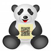 Panda Qr Code