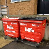Biffa Waste Management Wheelie Bins