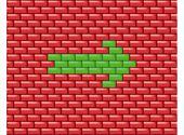 Wall With Arrow