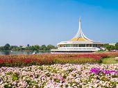 Suanluang RAMA 9 public park, Bangkok, Thailand