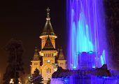 Metropolitan Church And Fountain