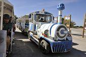 Tourist Train To Visit The Salt Business Of Aigues-mortes