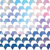 Pattern Of Geometric Shapes. Colorful Mosaic Backdrop. Geometric Retro Background