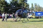 Military Helicopter NH 500-E
