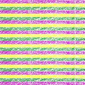 Vector Mardi Gras pastel crayon striped background