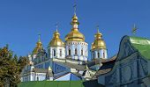 domes of St. Michael's Monastery in Kiev