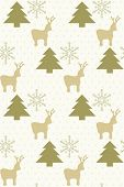 christmas repeating background