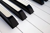 Keyboard Piano Detail