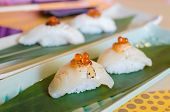 Fresh Sea Scallops Sushi