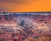 Sunset Skies Grand Canyon