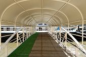 Covered pier