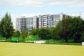 Vilnius City Seskine School Closed Stadium