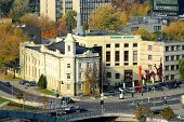 Vilnius Technical Museum Shot From Gediminas Tower Hill