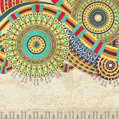 Attractive Ethnic Background Design