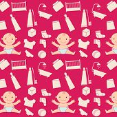 pattern with baby