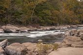 Tygart River In Autumn