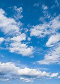 stock photo of heavenly  - Summer Heavens Cloudy Outdoor  - JPG