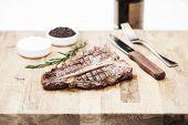 picture of t-bone steak  - Juicy t - JPG