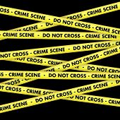 foto of crime scene  - Background with crime scene warning tape - JPG