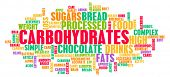 pic of carbohydrate  - Carbohydrates Weight Loss Concept with Removing It - JPG