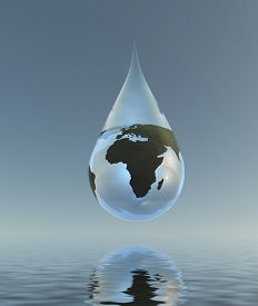 foto of water shortage  - Fresh Water Africa - JPG