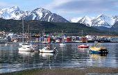 The port of Ushuaia