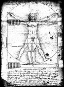 foto of leonardo da vinci  - Photo of the Vitruvian Man by Leonardo Da Vinci - JPG