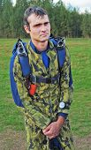 Portrait Of The Parachutist