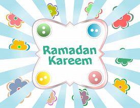 foto of ramadan calligraphy  - Arabic Islamic calligraphy of text Ramadan Kareem - JPG