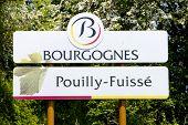 Pouilly-Fuisse, Cote Maconnais, Burgundy, France