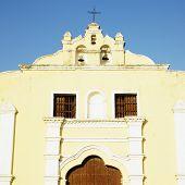 detail of San Juan Bautista de Remedios's Church, Parque Marti, Remedios, Cuba