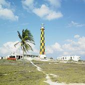 lighthouse, Cayo Paredon Grande, Camaguey Province, Cuba