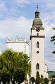 St. Anthony''s church and belfry, Spisska Bela, Slovakia