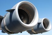 Two Giant Jet Engines
