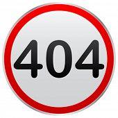 señal de error 404
