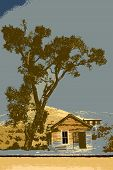 Bannack Illustration