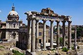 Forum Romanum. Rome