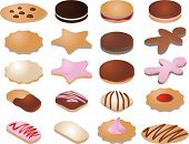 foto of chocolate-chip  - Various cookie icons - JPG