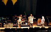 Crosby, Stills, Nash, junge in Konzert, Freiheit der Rede Tour, Concord, California, 25 Juli, 20