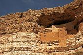 Ancient Native American dwelling at Montezuma's Castle National Monument, Camp Verde, Arizona
