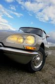 A classic 1973 Citroen DS 2.3 liter injection in mint condition