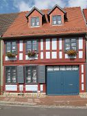 Renovated Half-Timbered House