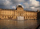 Museum and Fountains - Paris, France