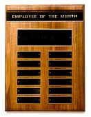 pic of employee month  - Wooden  - JPG