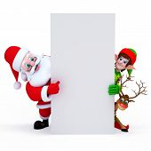 picture of elf  - Santa - JPG