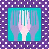 Polkadot Cutlery