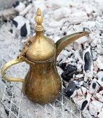 A traditional Gulf brass